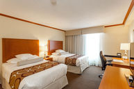 Standard Room with Two Double Beds and City View