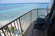 View from One-Bedroom Oceanfront Suite