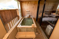 Suite with Tatami Area and Stairs to Hot Spring Bath