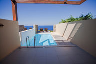 Superior Sea View Room with Private Pool