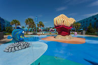 The Big Blue Pool Splash Pad