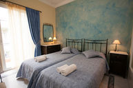 Twin Room Ensuite Blue with Balcony