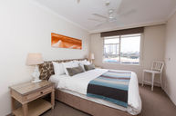 Two Person Bedroom with Harbour View