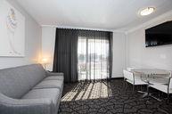 Two Room Efficiency Queen Bed Room Plus Queen Pullout