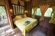 Villa Rustic Tree House Room