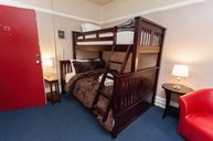 Bunk Beds with Shared Bathroom