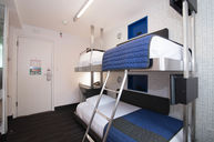 Bunk Bed Pod with Shared Bathroom