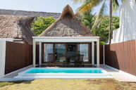 Beachfront Villa with Private Pool