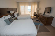 Deluxe Double Guest Room with Balcony and Sea View