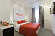 Deluxe Room with Red Accents