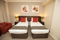 Deluxe Twin Room Red