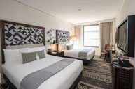 Double Bedded Room, City View