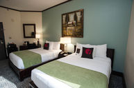 Double Full Beds Room