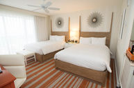 Double Queen Premium Room with Oceanfront Balcony