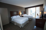 Double Queen Room with City View Balcony