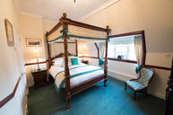 Double Room Green Ensuite with Four-Poster Bed