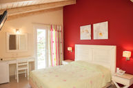 Double Room Red with Vaulted Ceiling