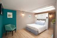 Double Room Blue with Terrace