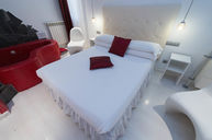 Double Room with Heart Shaped Jacuzzi