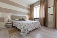 Double Room with Light Brown Accents