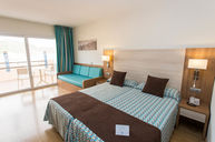 Double Room with Pool and Sea View