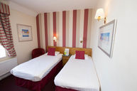 Double Twin Room with Seaview