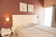 Double Twin Room Brown