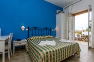 Cala Fortuna Family Bedroom with swimming pool view