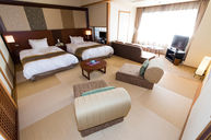 Executive Guest Room with Panoramic Hot Spring Bath