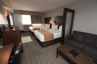 Executive Two Double Room with Sofa Bed
