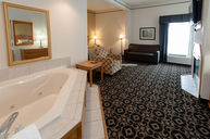 Fireplace Jacuzzi Suite