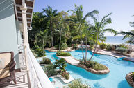 Crystal Lagoon Honeymoon Beachfront Penthouse One Bedroom Butler Suite