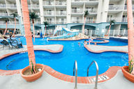 Curvy Outdoor Pool