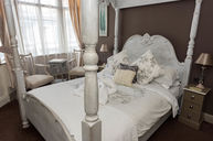 French Four Poster Provencal With Side Seaview