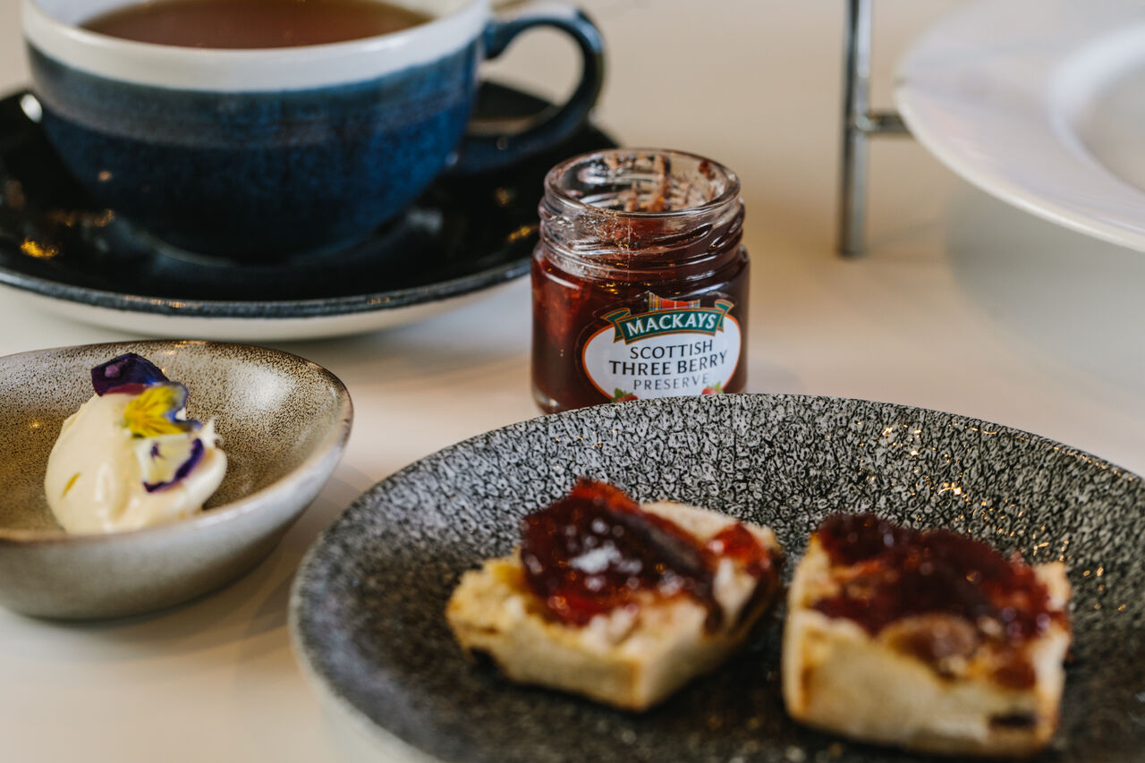 Mary Quant Afternoon Tea scones