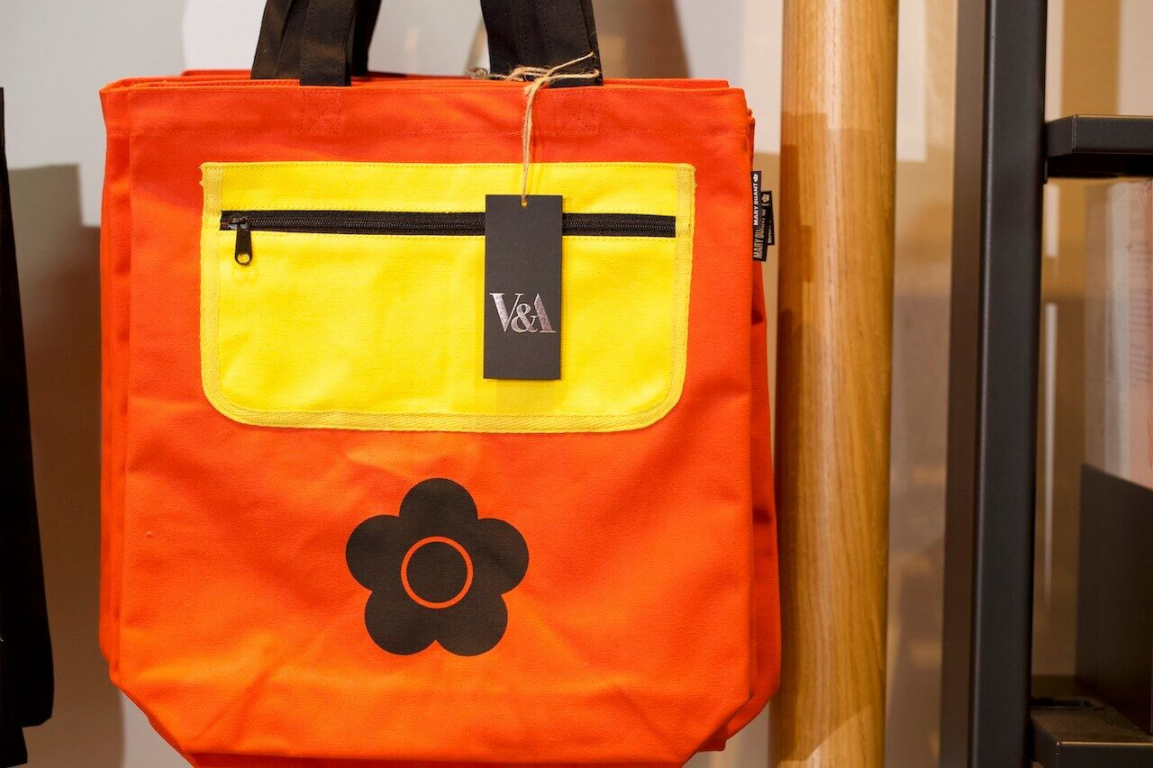 Mary Quant tote bag