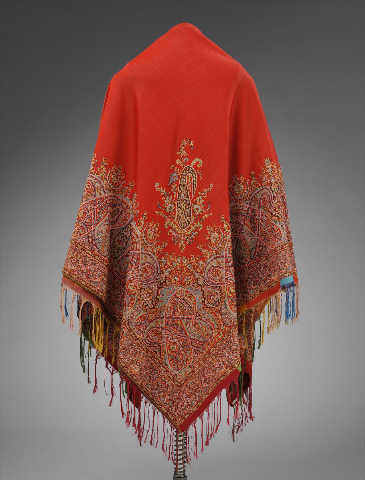 A Paisley shawl.