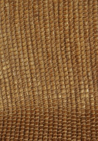 Close up of the woven back of an Orkney Chair.