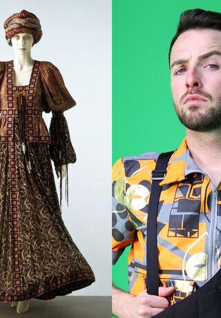 Bill Gibb's Tana dress and the writer Shane Strachan