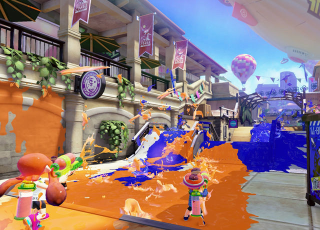 Screenshot from splatoon © 2015 Nintendo