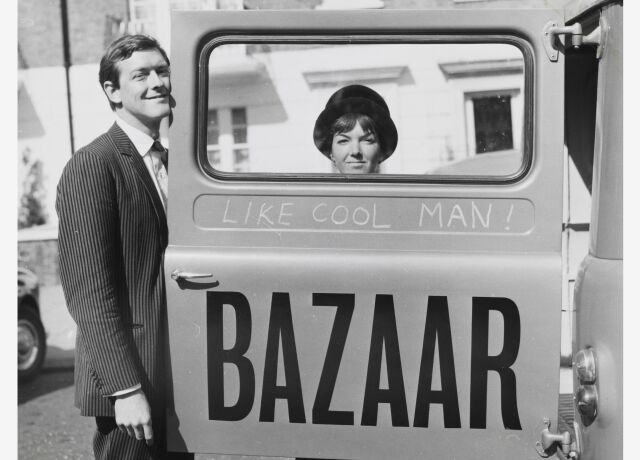 Mary Quant and Alexander Plunket Greene, photograph by John Cowan, 1960 Courtesy of Terence Pepper Collection