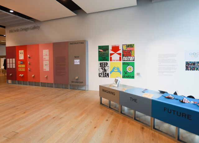 Image showing part of the Now Accepting Contactless exhibition