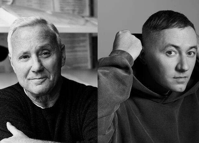Composite photograph of Ian Schrager & Benji B