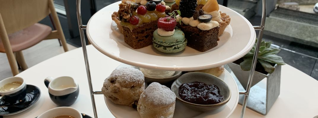 Savouries, scones and delectable sweet treats