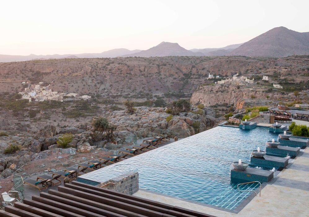 Infinity Pool  at Anantara Al Jabal Al Akhdar
