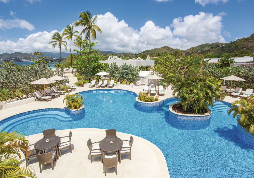 Swimming Pool at Spice Island Beach Resort