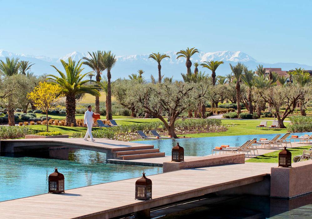 Service at Fairmont Royal Palm Marrakech