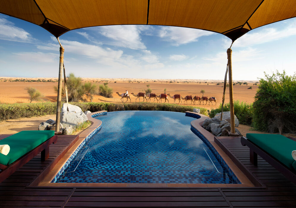 Pool View at Al Maha, a Luxury Collection Desert Resort & Spa