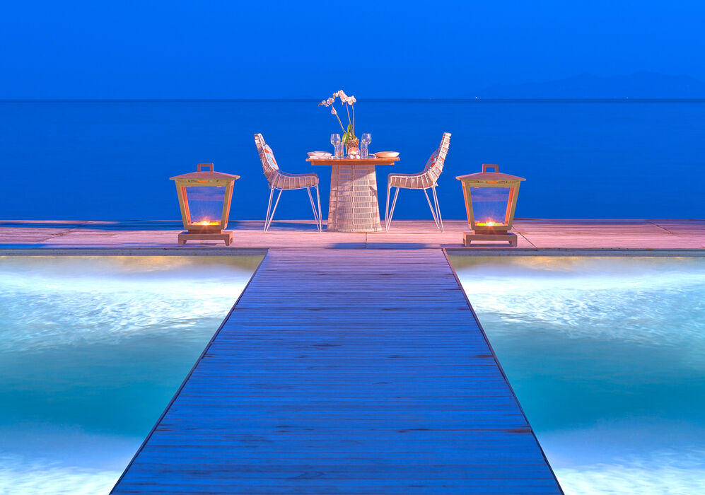 Private Dining at Santa Marina Resort & Villas, A Luxury Collection Resort, Mykonos