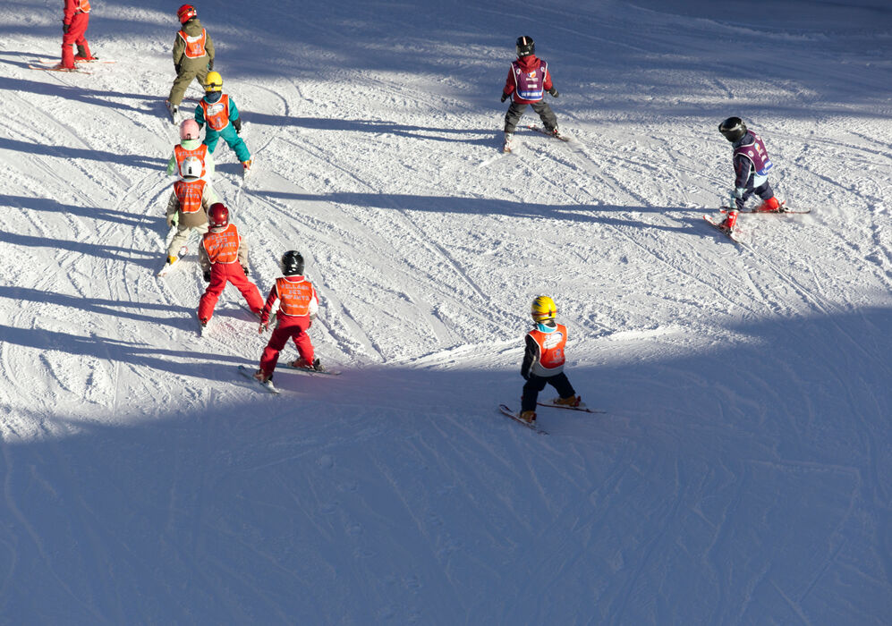 Skiing Lessons at Aman Le Melezin